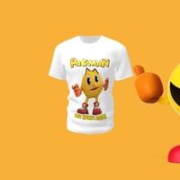 Camiseta Camisa Blusa Personalizada Pacman