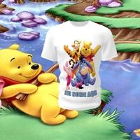 Camiseta Camisa Blusa Personalizada Disney Ursinho Pooh