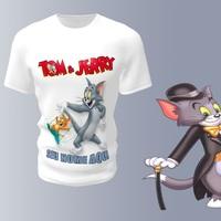 Camiseta Camisa Blusa Personalizada Tom & Jerry