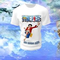 Camiseta Camisa Blusa Personalizada One Piece Luffy