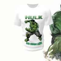 Camiseta Camisa Blusa Personalizada Hulk