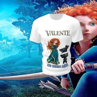 Camiseta Camisa Blusa Personalizada Disney Valente
