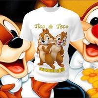 Camiseta Camisa Blusa Personalizada Tico e Teco