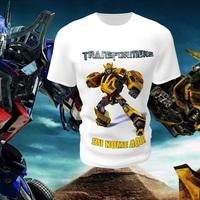 Camiseta Camisa Blusa Personalizada Infantil Transformers