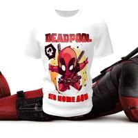 Camiseta Camisa Blusa Personalizada Infantil  DeadPool Vingadores